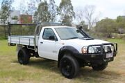 2008 Nissan Navara D22 MY2008 DX White 5 Speed Manual Cab Chassis Ormeau Gold Coast North Preview