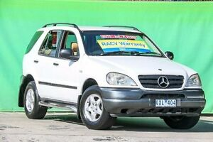 1999 Mercedes-Benz ML320 W163 Luxury White 5 Speed Automatic Wagon Ringwood East Maroondah Area Preview