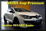 2014 Renault Megane III D95 Phase 2 R.S. 265 Cup Premium White 6 Speed Manual Coupe Hoppers Crossing Wyndham Area Preview