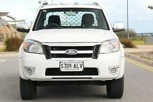 2010 Ford Ranger PK XLT Crew Cab White 5 Speed Automatic Utility Christies Beach Morphett Vale Area Preview