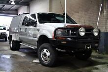 2004 Ford F250  Silver Automatic Cab Chassis Cranbourne Casey Area Preview