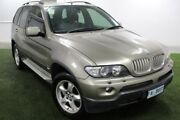 2004 BMW X5 E53 MY04 Steptronic Green 6 Speed Sports Automatic Wagon Moonah Glenorchy Area Preview