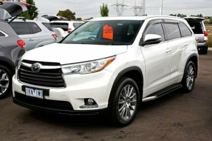 2014 Toyota Kluger GSU55R Grande AWD Crystal Pearl 6 Speed Sports Automatic Wagon Mill Park Whittlesea Area Preview