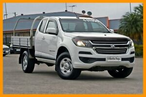 2016 Holden Colorado RG MY17 LS Space Cab White 6 Speed Sports Automatic Cab Chassis Hillcrest Logan Area Preview