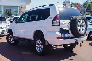 2008 Toyota Landcruiser Prado KDJ120R GXL White 5 Speed Automatic Wagon Westminster Stirling Area Preview