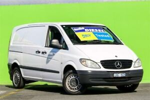2006 Mercedes-Benz Vito 639 109CDI Low Roof Comp White 6 Speed Manual Van Ringwood East Maroondah Area Preview