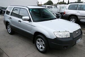2006 Subaru Forester 79V MY07 X AWD Silver 4 Speed Automatic Wagon Heatherton Kingston Area Preview