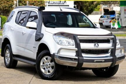 2013 Holden Colorado 7 RG MY14 LT White 6 Speed Sports Automatic Wagon