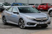 2016 Honda Civic 10th Gen MY16 VTi-L Silver 1 Speed Constant Variable Sedan Ferntree Gully Knox Area Preview