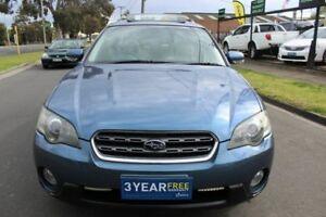 2005 Subaru Outback B4A MY06 R AWD Premium Pack Blue 5 Speed Sports Automatic Wagon