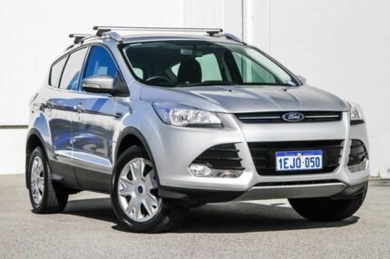 2013 Ford Kuga TF Ambiente AWD Silver 6 Speed Sports Automatic Wagon Rockingham Rockingham Area Preview