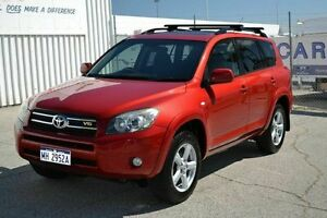 2007 Toyota RAV4 SX-6 Bargain Red 4 Speed Automatic Wagon East Rockingham Rockingham Area Preview