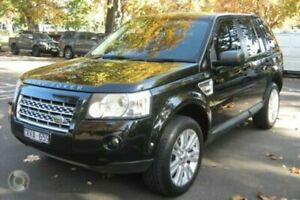 2010 Land Rover Freelander 2 LF MY10 SE TD4 (4x4) Black 6 Speed Automatic Wagon North Melbourne Melbourne City Preview