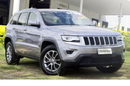 2014 Jeep Grand Cherokee WK MY2014 Laredo 4x2 Silver 8 Speed Sports Automatic Wagon Hillcrest Logan Area Preview