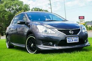 2015 Nissan Pulsar C12 Series 2 SSS Storm Grey 1 Speed Constant Variable Hatchback Wangara Wanneroo Area Preview