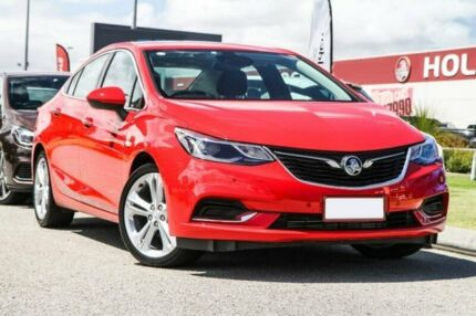 2017 Holden Astra BL MY17 LTZ Red 6 Speed Sports Automatic Sedan East Rockingham Rockingham Area Preview