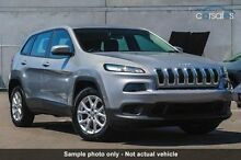 2015 Jeep Cherokee KL MY15 Sport Silver 9 Speed Sports Automatic Wagon Invermay Launceston Area Preview