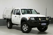 2010 Mazda BT-50 09 Upgrade Boss B3000 Freestyle SDX (4x4) White 5 Speed Manual Pickup Bentley Canning Area Preview