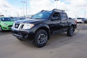 2018 Nissan Frontier 4X4 PRO-4X CREW CAB Heated Leather Seats, S