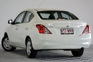 2013 Nissan Almera N17 ST White 4 Speed Automatic Sedan Coopers Plains Brisbane South West Preview