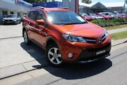 2014 Toyota RAV4 ZSA42R MY14 GXL 2WD Orange 7 Speed Constant Variable Wagon Port Macquarie Port Macquarie City Preview