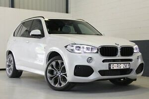 2014 BMW X5 F15 xDrive30d White 8 Speed Sports Automatic Wagon Hillcrest Port Adelaide Area Preview