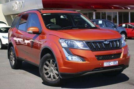 2016 Mahindra XUV500 MY16 W8 AWD Orange 6 Speed Sports Automatic Wagon
