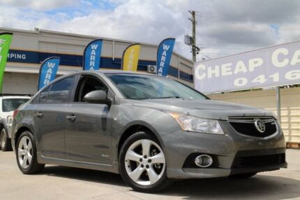 2011 Holden Cruze JH Series II MY11 SRi Grey 6 Speed Sports Automatic Sedan Greenslopes Brisbane South West Preview