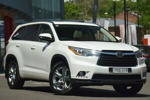 2016 Toyota Kluger GSU55R Grande AWD White 6 Speed Sports Automatic Wagon Waitara Hornsby Area Preview