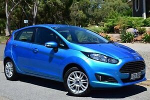 2014 Ford Fiesta WZ Trend PwrShift Blue 6 Speed Sports Automatic Dual Clutch Hatchback St Marys Mitcham Area Preview