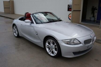 2006 BMW Z4 E85 MY06 3.0SI Silver 6 Speed Manual Roadster Milperra Bankstown Area Preview