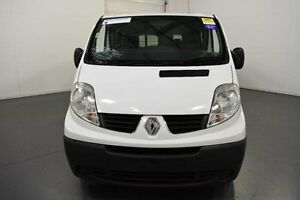 2012 Renault Trafic X83 Phase 3 Low Roof LWB Quickshift White Seq Manual Auto-Clutch Van Moorabbin Kingston Area Preview