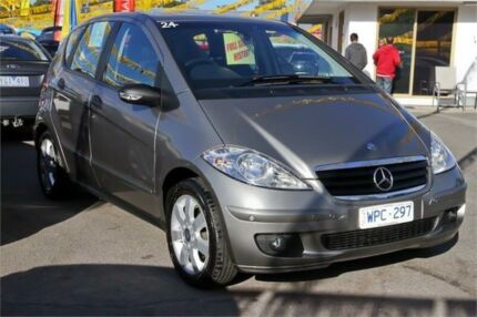 2008 Mercedes-Benz A170 W169 MY08 Elegance Grey 7 Speed Constant Variable Hatchback Ringwood East Maroondah Area Preview