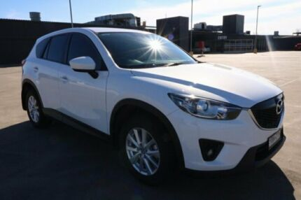 2013 Mazda CX-5 KE1021 MY13 Maxx SKYACTIV-Drive AWD Sport White 6 Speed Sports Automatic Wagon