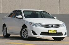 2012 Toyota Camry ASV50R Altise White 6 Speed Automatic Sedan Arncliffe Rockdale Area Preview