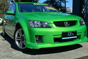 2010 Holden Commodore VE MY10 SV6 Sportwagon Green 6 Speed Sports Automatic Wagon Ashmore Gold Coast City Preview