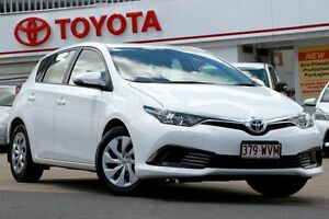 2015 Toyota Corolla ZRE182R Ascent S-CVT Glacier 7 Speed Constant Variable Hatchback Woolloongabba Brisbane South West Preview