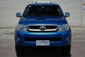 2011 Toyota Hilux KUN26R MY10 SR5 Blue 4 Speed Automatic Utility Seaford Frankston Area Preview