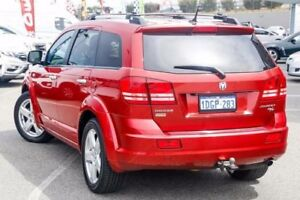 2010 Dodge Journey JC MY10 R/T Red 6 Speed Automatic Wagon