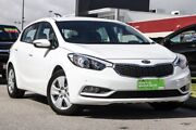 2015 Kia Cerato YD MY15 S White 6 Speed Sports Automatic Hatchback East Rockingham Rockingham Area Preview