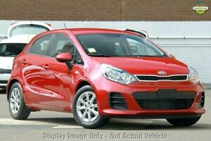 2015 Kia Rio UB MY15 S Signal Red 6 Speed Manual Hatchback Moorooka Brisbane South West Preview