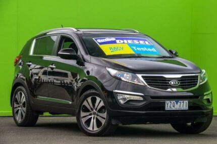 2012 Kia Sportage SL MY12 Platinum Black 6 Speed Sports Automatic Wagon Ringwood East Maroondah Area Preview