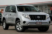 2015 Toyota Landcruiser Prado GDJ150R GX Silver Pearl 6 Speed Sports Automatic Wagon Woolloongabba Brisbane South West Preview