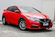 2013 Honda Civic 9th Gen MY13 VTi-S Red 5 Speed Sports Automatic Hatchback Doncaster Manningham Area Preview