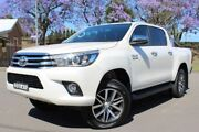 2017 Toyota Hilux GUN126R SR5 Double Cab White 6 Speed Sports Automatic Utility East Maitland Maitland Area Preview