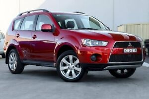 2012 Mitsubishi Outlander ZH MY12 LS 2WD Red 6 Speed Constant Variable Wagon Liverpool Liverpool Area Preview