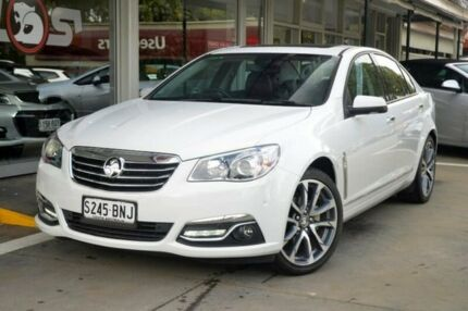 2016 Holden Calais VF II MY16 V White 6 Speed Sports Automatic Sedan