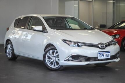 2017 Toyota Corolla ZRE182R Ascent Sport S-CVT White 7 Speed Constant Variable Hatchback Bellevue Swan Area Preview