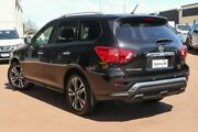 2018 Nissan Pathfinder R52 Series II MY17 Ti X-tronic 4WD Black 1 Speed Constant Variable Wagon Clarkson Wanneroo Area Preview