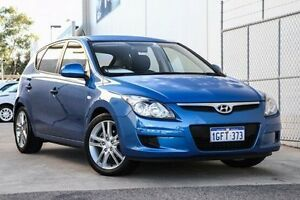 2011 Hyundai i30 FD MY11 SX Blue 4 Speed Automatic Hatchback Bellevue Swan Area Preview